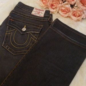 True Religion Billy straight indigo like new sz30